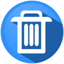 garbage, menu, recycle, remove, rubbish, trash, waste icon