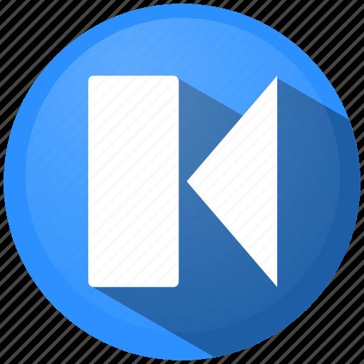 arrow, back, download, menu, pause, rewind, stop icon