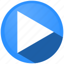 film, menu, music, play, player, video, youtube icon