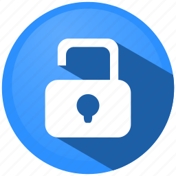 access, information, menu, padlock, protection, safety, security icon