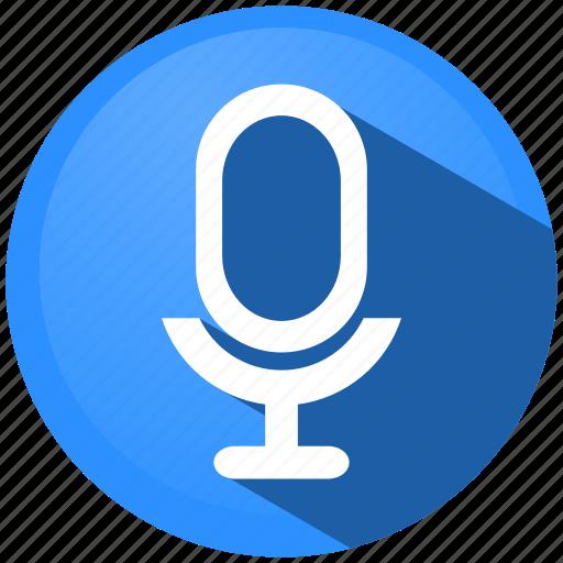 audio, menu, microphone, movie, music, sound, video icon