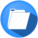 document, documents, extension, files, folder, menu, paper icon