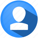 avatar, business, human, menu, profile, shopping, user icon