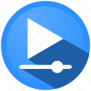 audio, control, menu, movie, music, player, video icon