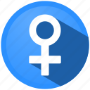 client, female, gender, menu, sexual orientation, user, woman icon