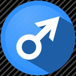 arrow, download, gender, marker, menu, navigation, sexual orientation icon