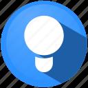 bulb, discovery, idea, lamp, lightning, menu, power icon