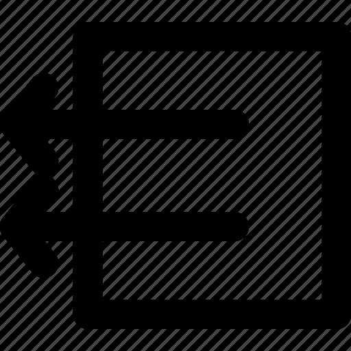 arrow, arrows, box, creative, direction, grid, left, move, outside, shape icon