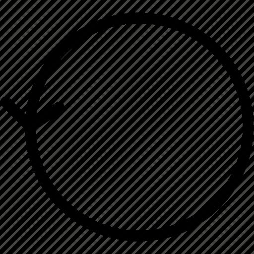 arrow, arrows, circle, creative, direction, grid, line, move, shape icon