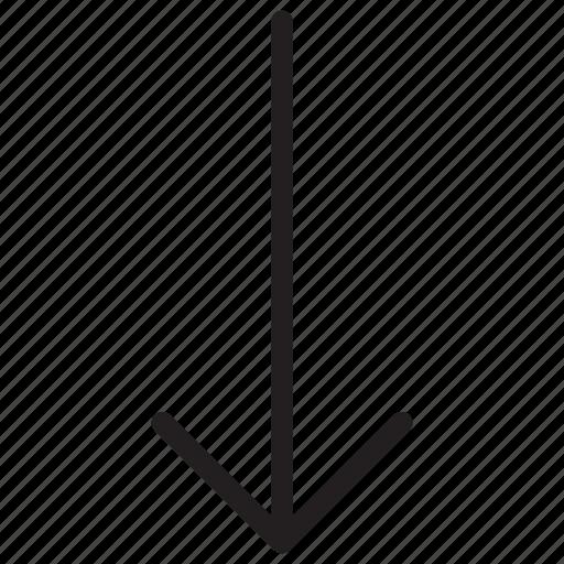 arrow, arrows, download icon