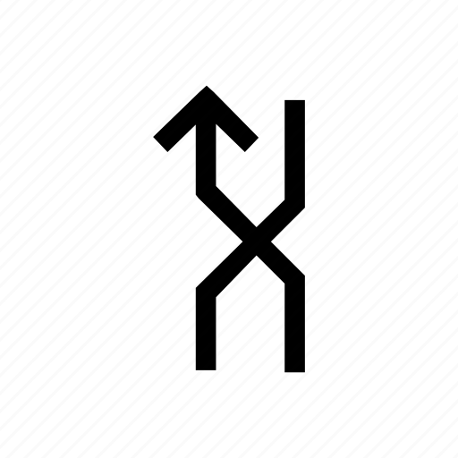 arrow, arrows, left, mix, shuffle, traffic icon