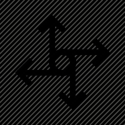 arrow, arrows, circle, mesh, rotate, rotation icon