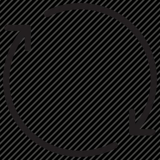 arrow, arrows, repeat icon, rotation icon