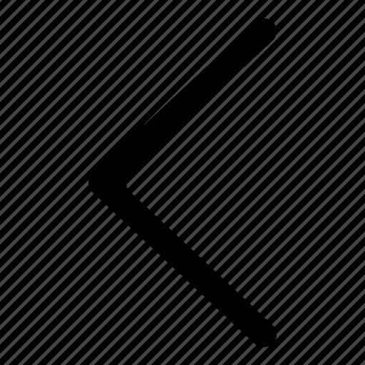 arrow, arrows, chevron, left, previous icon