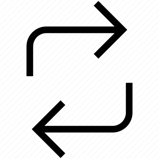 reload, retry, retweet, turn, update icon