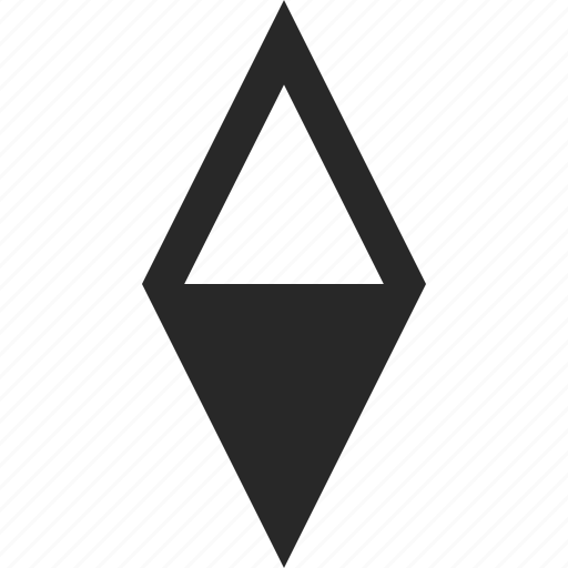 arrow, compass, direction, location, navigation, pointer icon