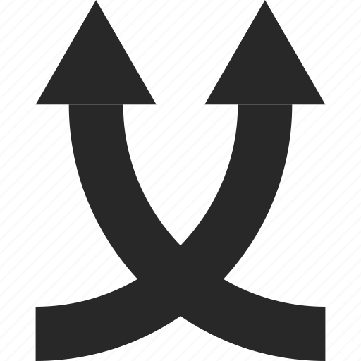arrow, direction, mix, pointer, shuffle, top, up icon