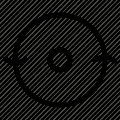 arrow, arrows, creative, grid, line, refresh, reload, shape icon