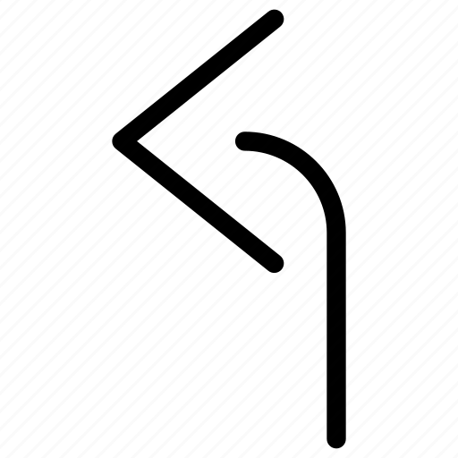 analytics, arrow, arrows, chart, creative, diagram, direction, graph, grid, left, line, map, move, navigation, shape, turn icon