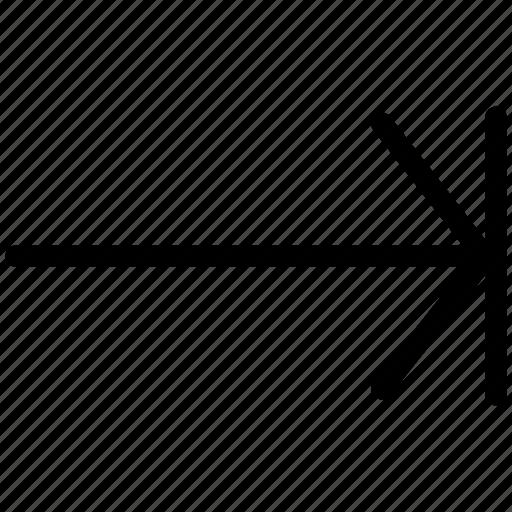 arrow, arrows, creative, document, documents, end, grid, line, paper, pointer, shape, sheet icon