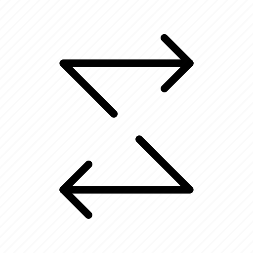 Arrow, way, zig zag icon - Download on Iconfinder