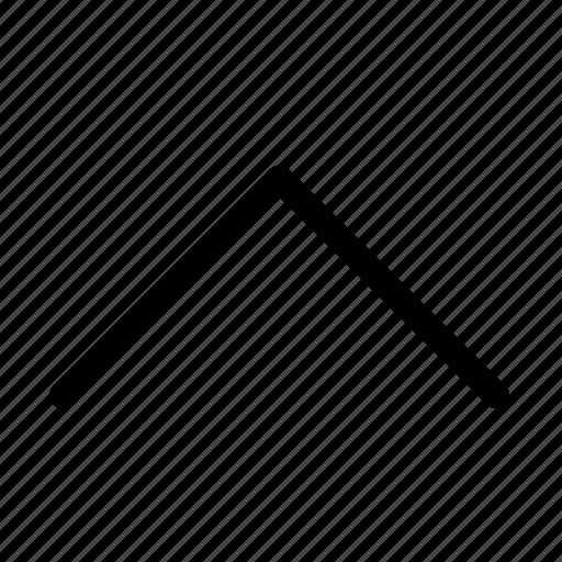 collapse, direction, up arrow, upload, upward icon