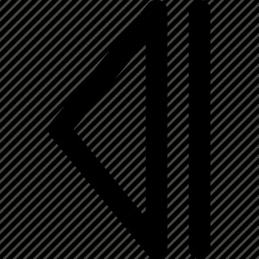 arrow, arrows, back, chart, creative, diagram, direction, graph, grid, left, previous, shape icon