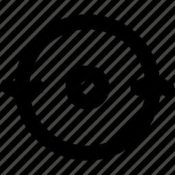 arrow, arrows, creative, grid, refresh, reload, shape icon