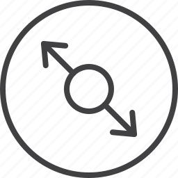arrows, extend, resize, stretch, zoom icon