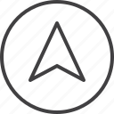 arrow, cursor, navigation, navigator icon