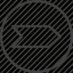 arrow, direction, forward, right icon