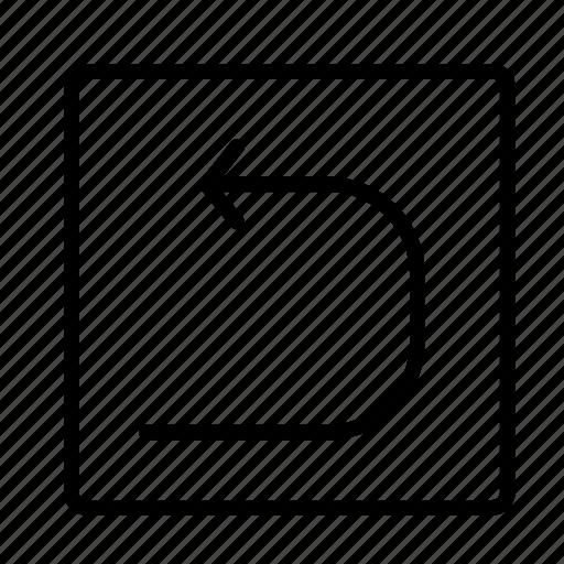 arrow, box2, direction icon