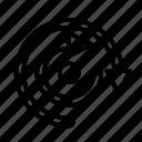 arrow, direction, doublereturn icon