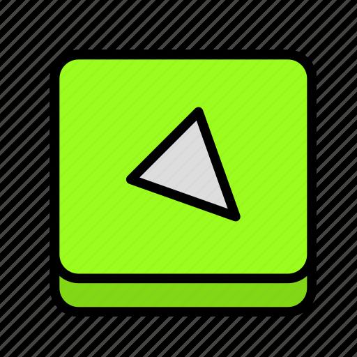 arrow, diagonal, direction icon