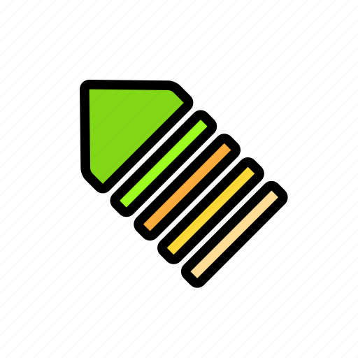 arrow, charge, direction icon