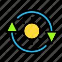 arrow, direction, ecosun