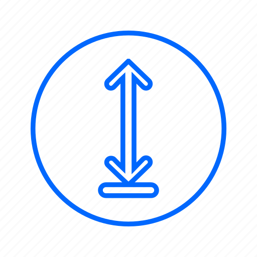 arrow, directions, navigation, pointer, up icon