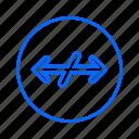 arrow, cursor, directions, navigation, pointer icon