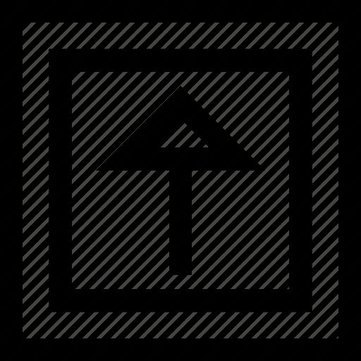 arrow, design, shape, up icon