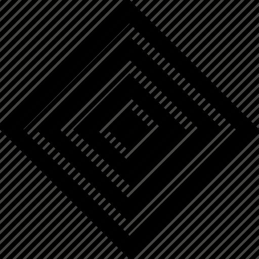 cube, eye, shape icon