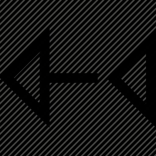 back, design, shape icon