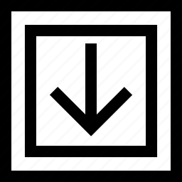 abstract, arrow, point icon