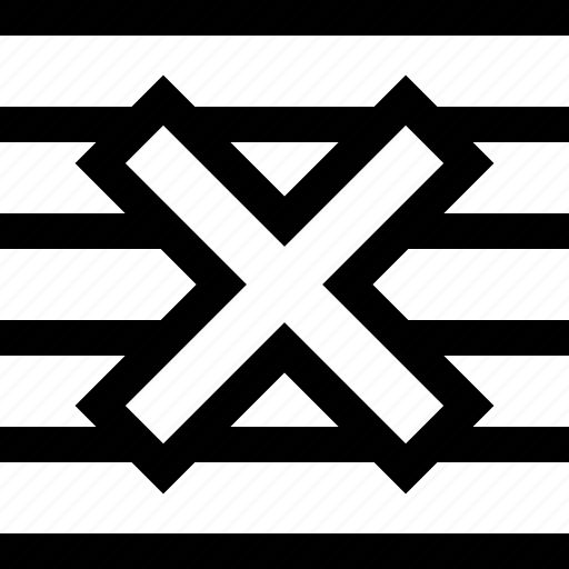 abstract, stop, x icon