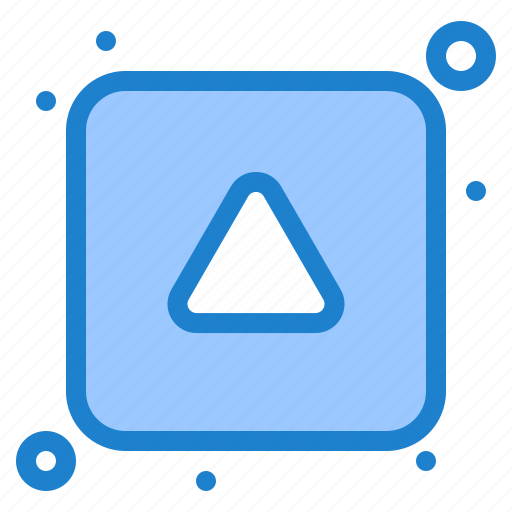 align, arrow, direction, up icon