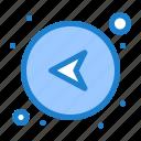 arrows, direction, left, network