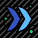 arrow, direction, multimedia, right