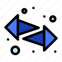 arrows, left, right, switch