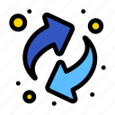 arrows, recycling, resources