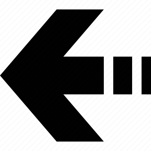 app button, arrow, left, point, sign, web icon