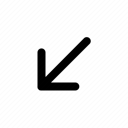 arrow, cross, cursor, direction, down, missile icon
